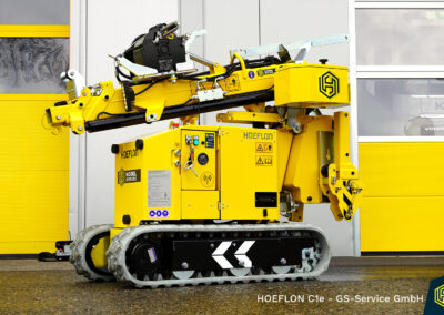 Kompakt Kran HOEFLON C1e – GS Service GmbH
