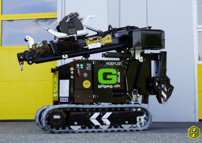 Kompakt Kran HOEFLON C1e – Gilg AG