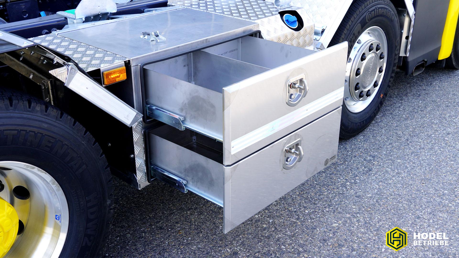 Tilbox Schubladen für Lastwagen